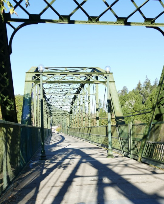 Russian River bridge Guerneville