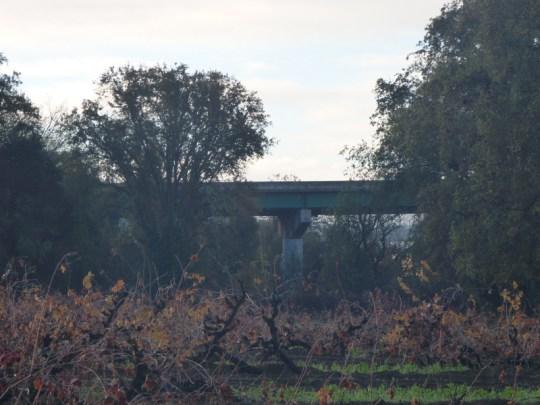 Russian River bridge on CA-20