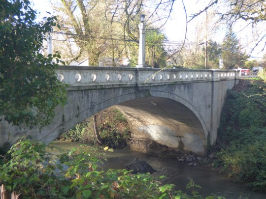 East Fork Russian River bridge in Potter Valley