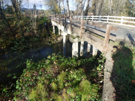 East Fork Russian River bridge on Gibson Lane