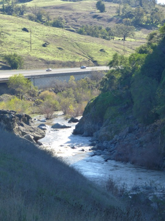 Russian River south of Hopland