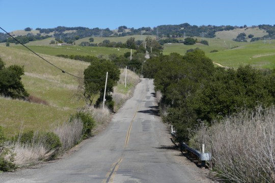 Sonoma Mountain Road