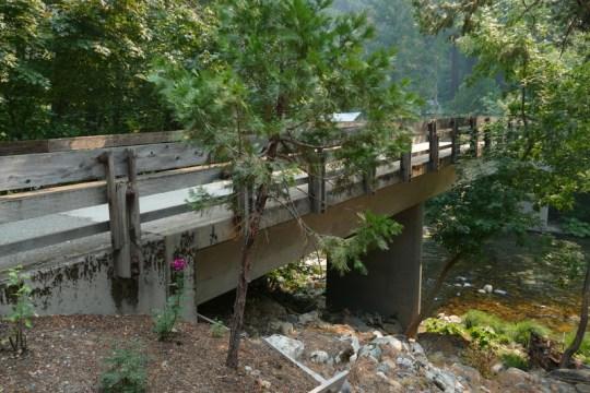 Falls Avenue Bridge in Sweetbriar