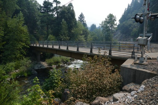 Sacramento Avenue Bridge in Dunsmuir