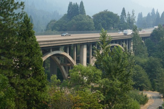 I-5 Bridge in Dunsmuir