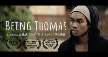 BEING THOMAS, short film