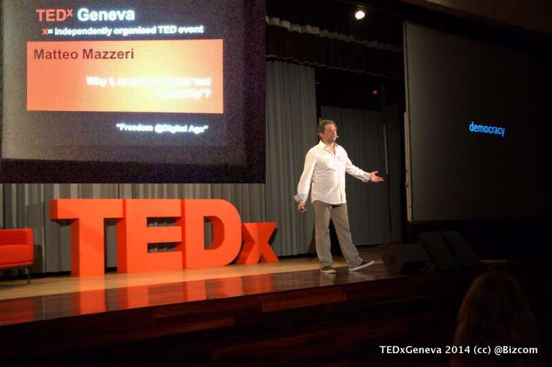 Matteo Mazzeri net neutrality talk at TEDxGeneva