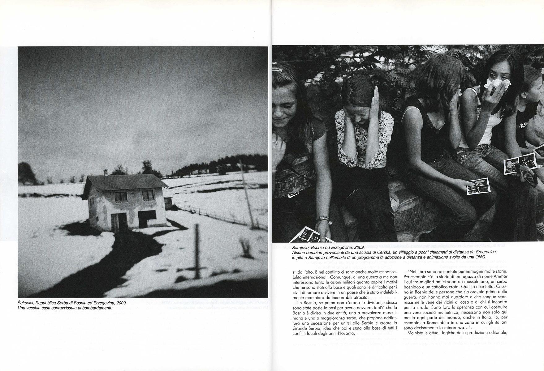 "September 2013 - ""The Bosnian Identity"" published in Fotografia Reflex"