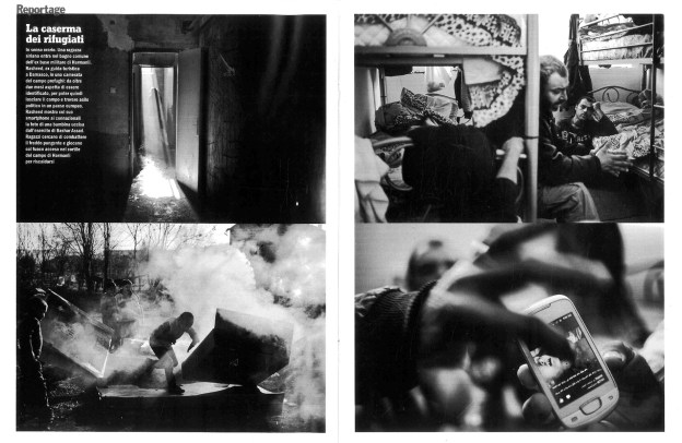 """February 2014 - The first chapter of my long term project """"Souls of Syrians"""" published in L'Espresso magazine."""