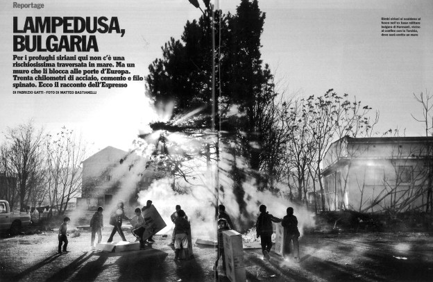 "February 2014 - The first chapter of my long term project ""Souls of Syrians"" published in L'Espresso magazine"