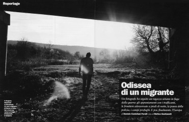 "May 2015 - ""Souls of Syrians"" published in L'Espresso magazine."