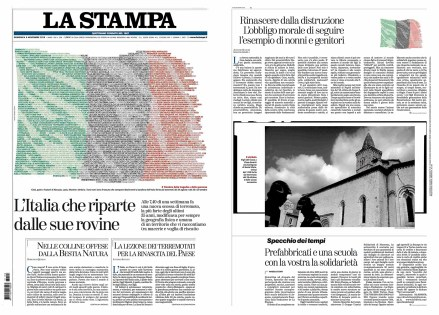 November 2016 - Assignment for La Stampa, with an article written by Domenico Quirico.