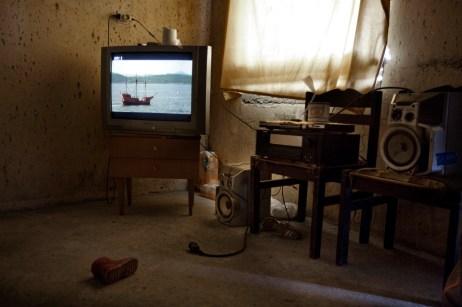 Inside view of a home in the Rom commune at Podturen (Međimurje), Croatia 2009. © Matteo Bastianelli