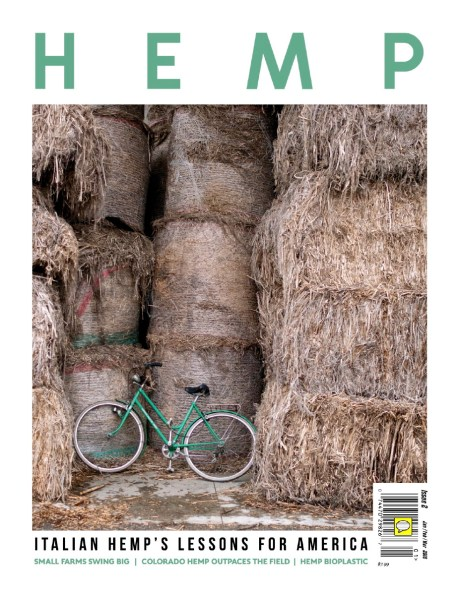 "January 2018- My long-term project ""Green gold"" published as cover story on Hemp magazine in the USA."