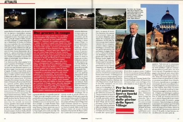"""July 2010 - """"Anemone sfiorito"""", assignment for L'Espresso magazine"""