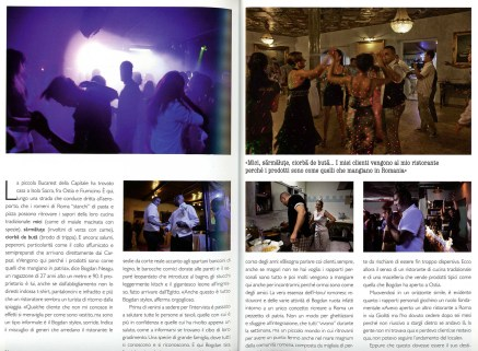"September 2011 - ""Romani d'Europa"" published in various magazines"