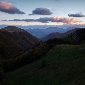 A view of the Sibillini Mountains. Italy 2016. © Matteo Bastianelli