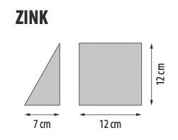 ZINK, misure