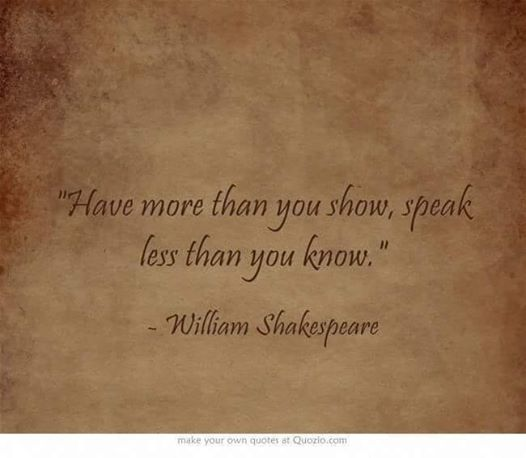 HaveMoreThanYouShowShakespeare