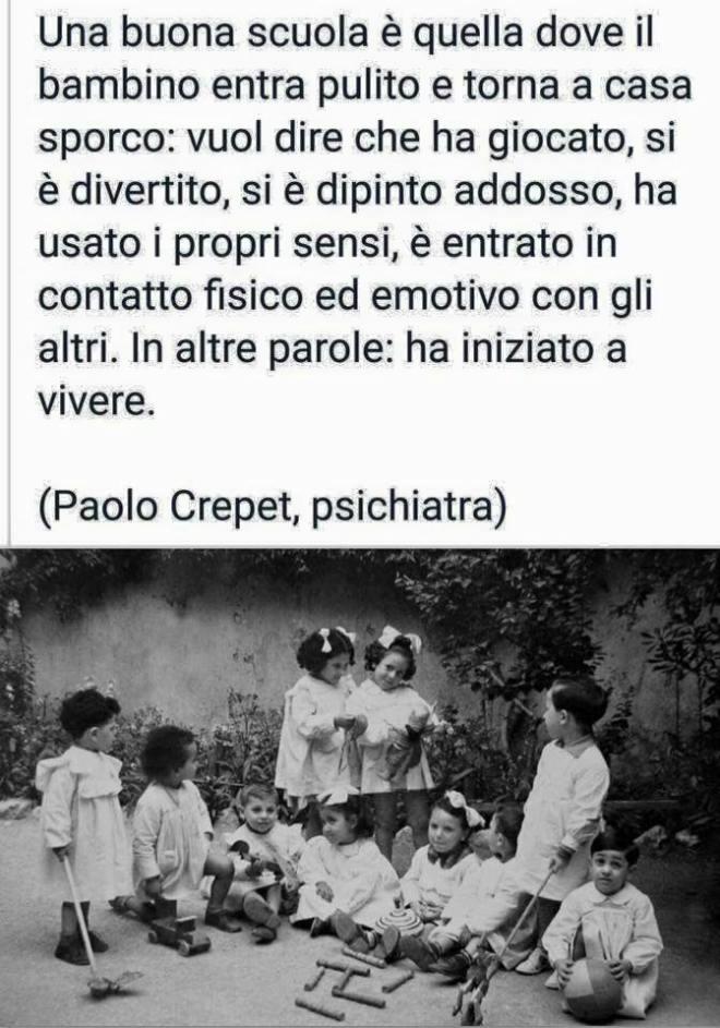 Una buona scuola secondo lo psichiatra Paolo Crepet