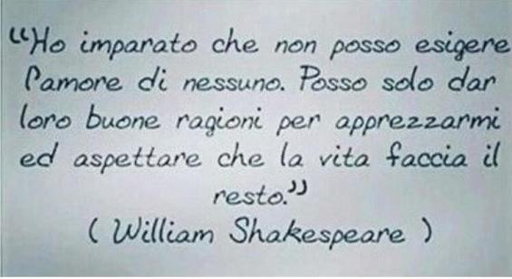 Cosa ha imparato William Shakespeare