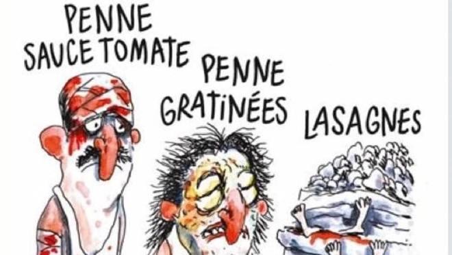 Vignetta di Charlie Ebdo