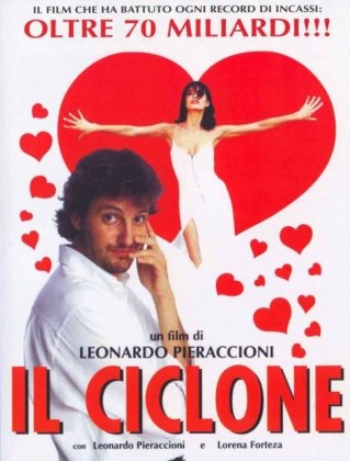 """Locandina del film """"Il ciclone"""""""