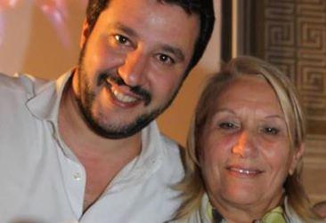 Rosy Guarnieri e Matteo Salvini su Twitter