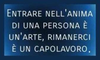 Frase anonima che compara le persone, l' arte e il capolavoro