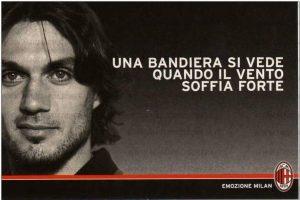 La bandiera del Milan, Paolo Maldini
