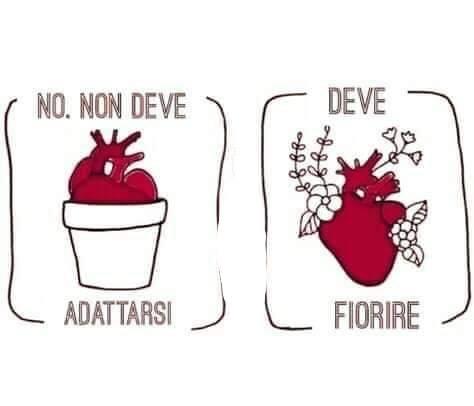 Il cuore deve adattarsi o fiorire?