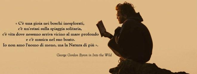 Versetto di Byron per chi ama la natura