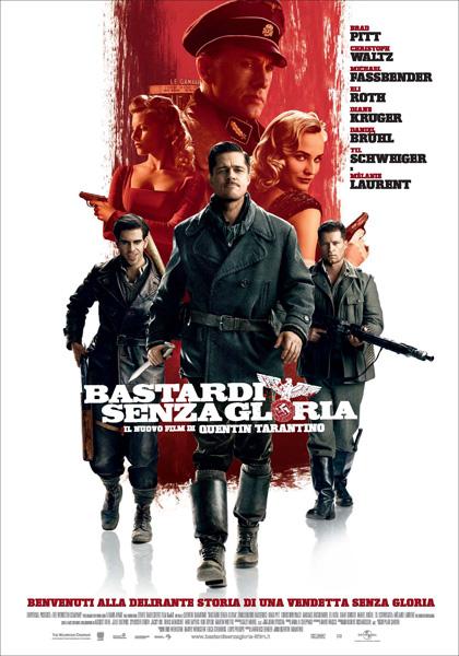 "Locandina del film ""Bastardi senza gloria"""