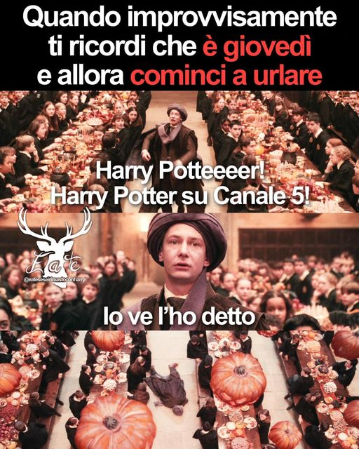 Harry Potter ogni giovedì su Canale 5