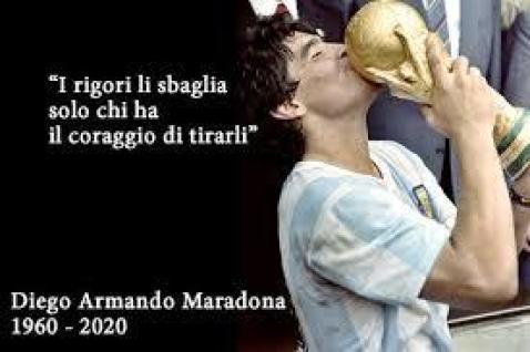 Chi sbaglia i rigori per Maradona