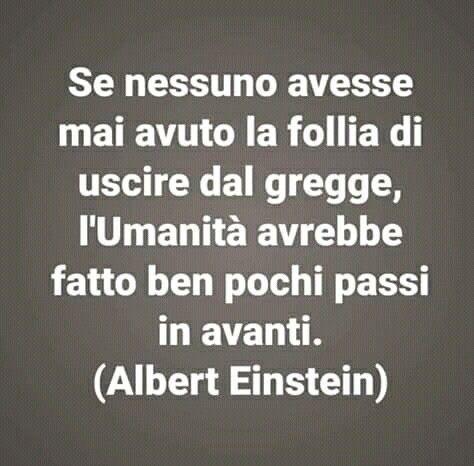 Perché occorre uscire dal gregge secondo Einstein