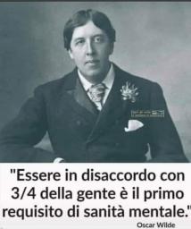 Oscar Wilde era spesso in disaccordo