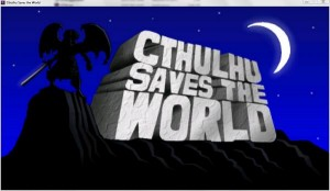 Cthulhu saves the world intro