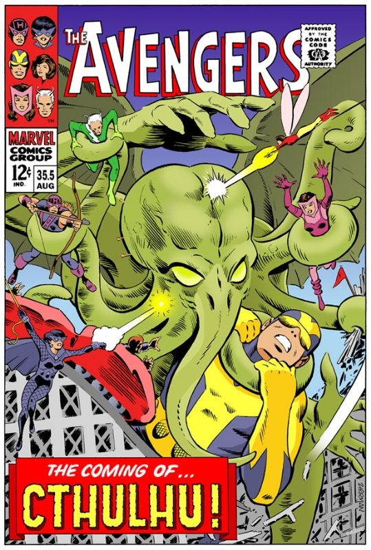 The Avengers vs Cthulhu
