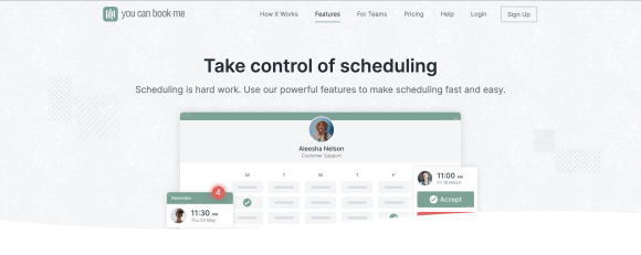 YouCanBook-Me review: learn how they fare of essential features of appointment scheduling apps.