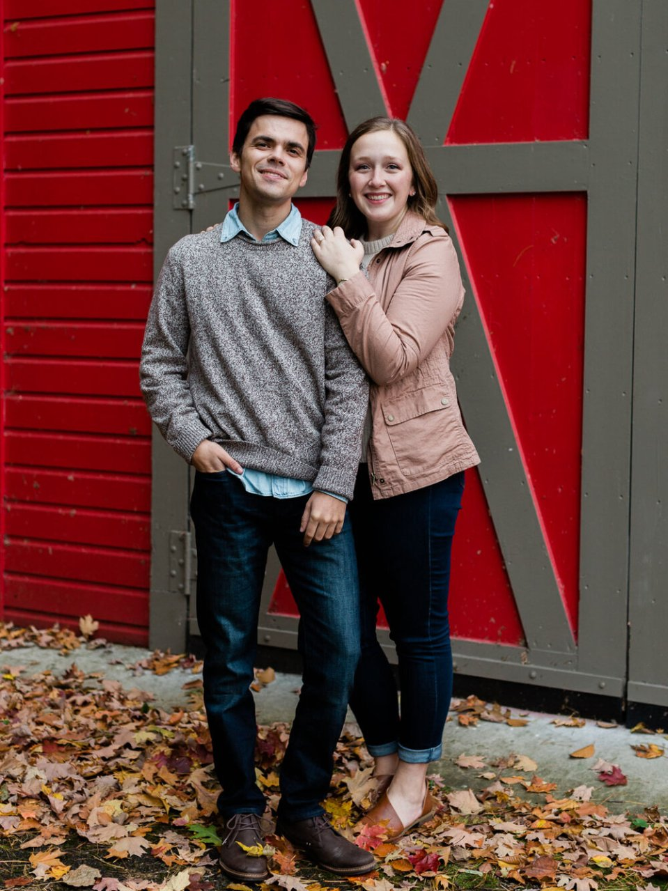 Fall Rocky River Reservation Engagement Photos-16.jpg