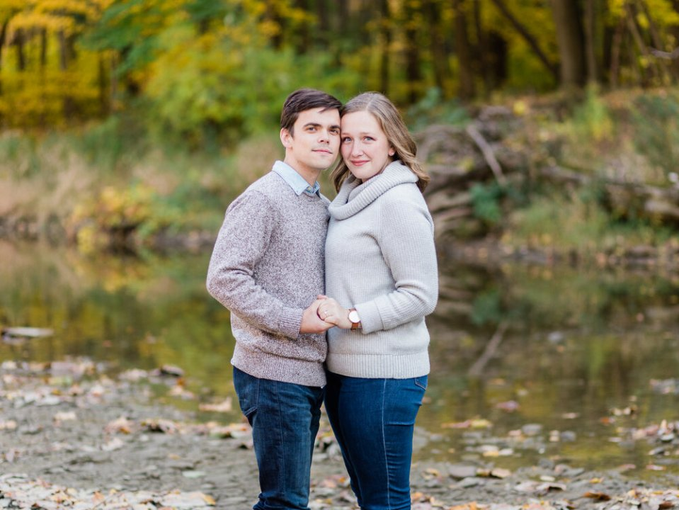 Fall Rocky River Reservation Engagement Photos-8.jpg