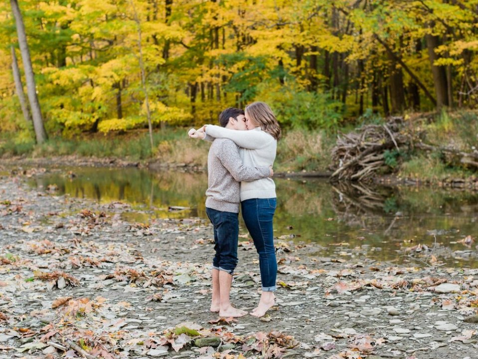 Fall Rocky River Reservation Engagement Photos-9.jpg