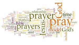 prayer wordcloud
