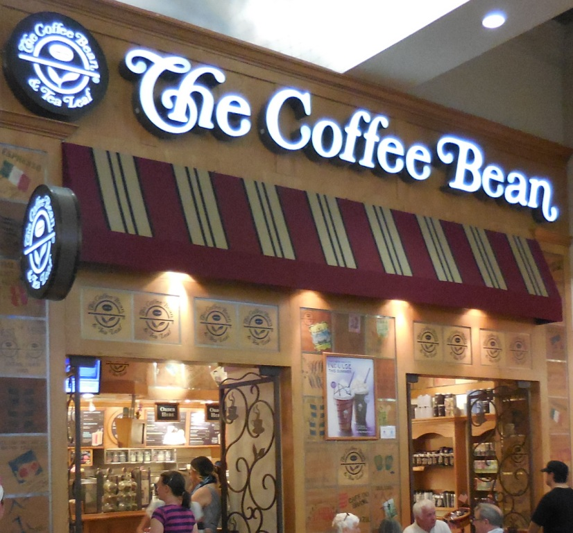 Coffee Bean & Tea Leaf Locations on/near the Las Vegas Strip