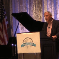 Hillel President Obliquely References Open Hillel at Hillel Conference