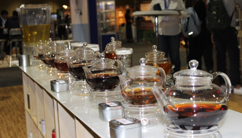 Tasting Some Teas on the Exhibition Floor at This Year's World Tea Expo