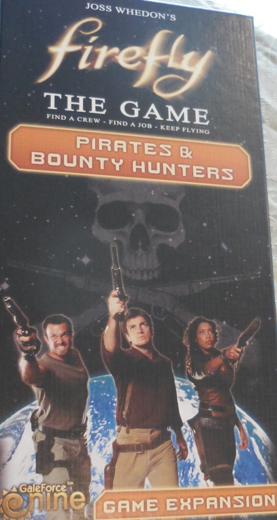 """Firefly: The Game"" Pirates & Bounty Hunters Expansion"