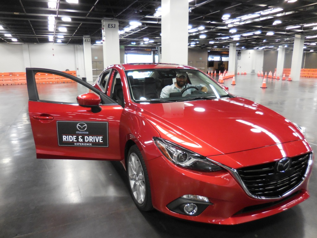 Test Driving Cars at the Orange County Auto Show