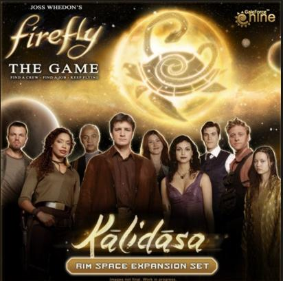 Kalidasa Rim Space Expansion for Firefly: The Game Adds More Than Just More Board